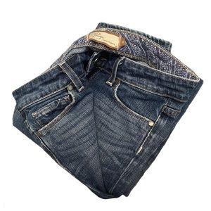 "Paige ""blue heights"" skinny denim jeans 6"